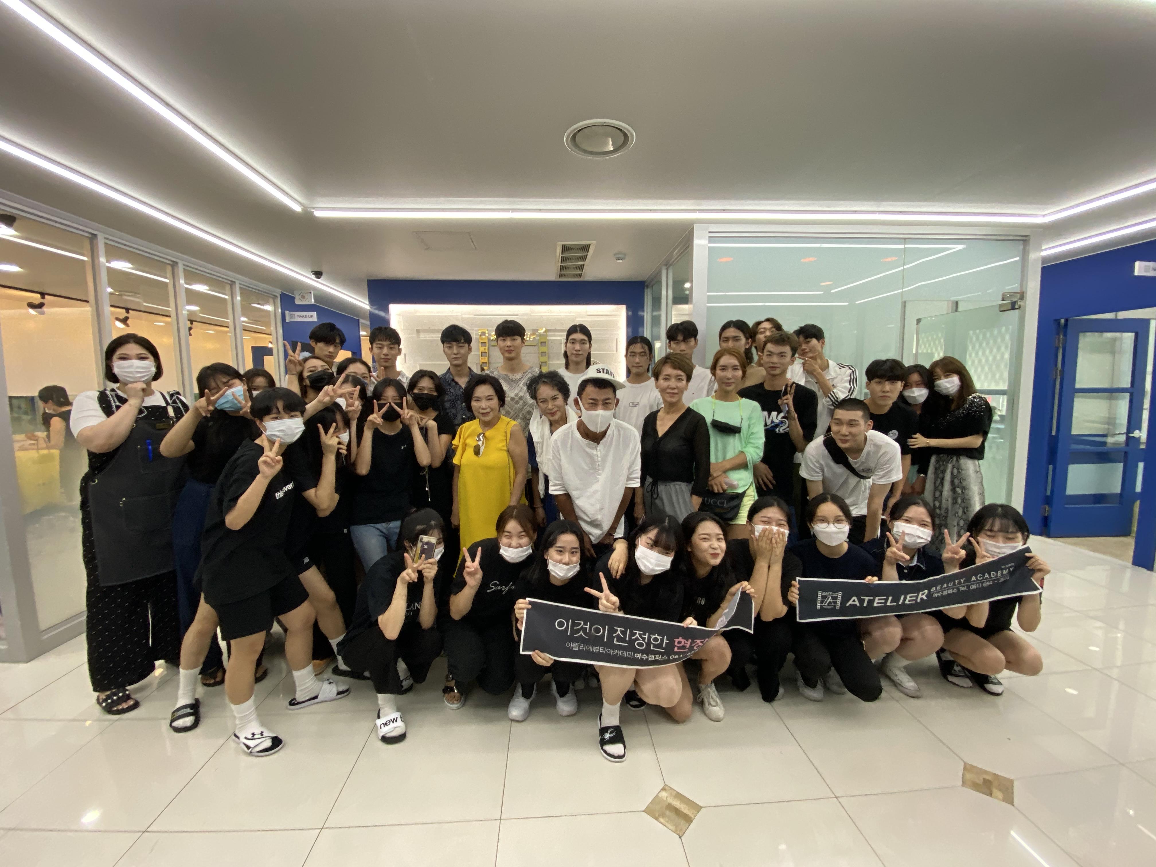 박종철 디자이너 슬링스톤 패션쇼 헤어&메이크업 현장실습